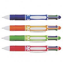비치 4색 혼합 볼펜