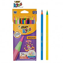 [BIC] 빅 에볼루션 서커스 색연필 12색
