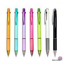 2색형광+볼펜 불투명(3in1)